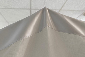 Elegant trim on the NOVA Shielding Canopy