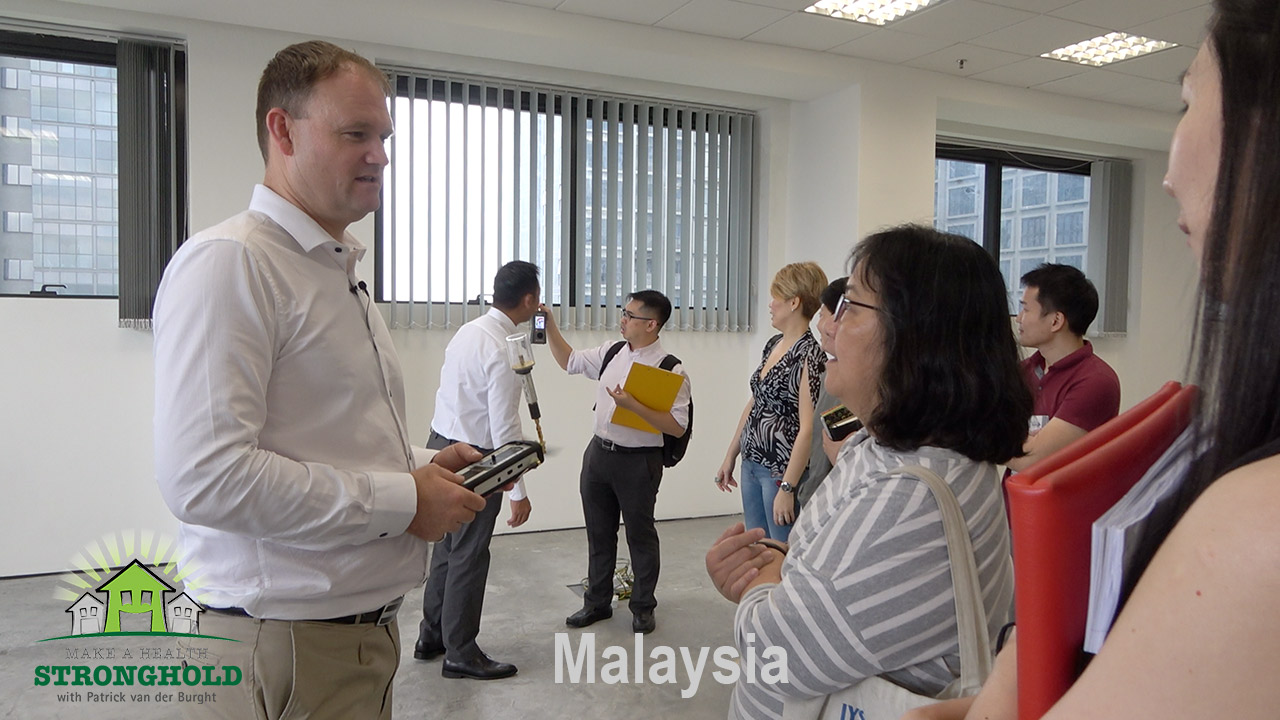 EMF Radiation-Free Building Kuala Lumpur Patrick van der Burght Training
