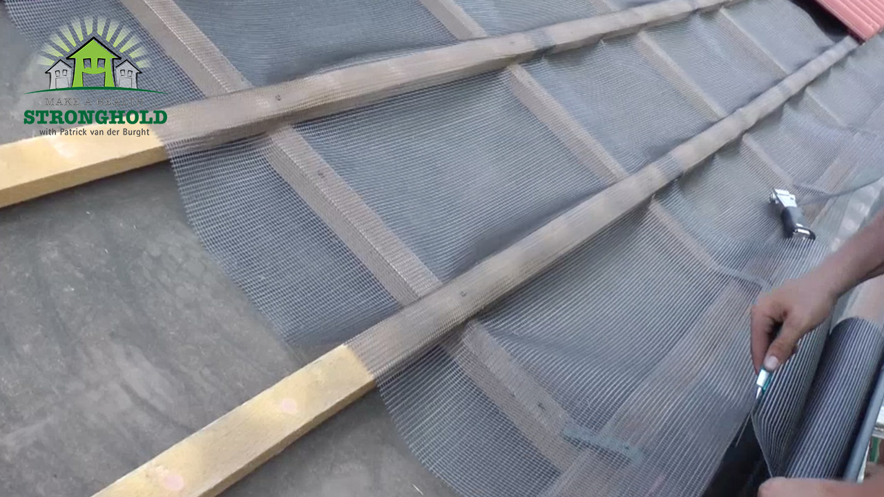 EMF Radiation-Free Building Roof Shielding against 5G application Patrick van der Burght