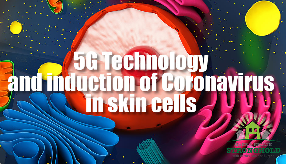 5G Technoloogy and induction of coronavirus in skin cells