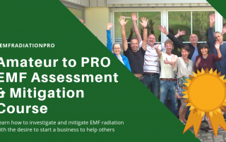 Guided Online Course in PRO-Level EMF Radiation Assessment and Mitigation