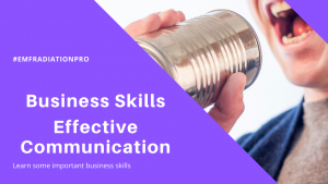 EMF business skills session on effective communication