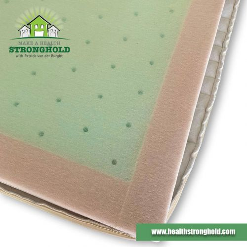Reinforced side in the Toxin-Free Baby Mattress by GEOVITAL Austria