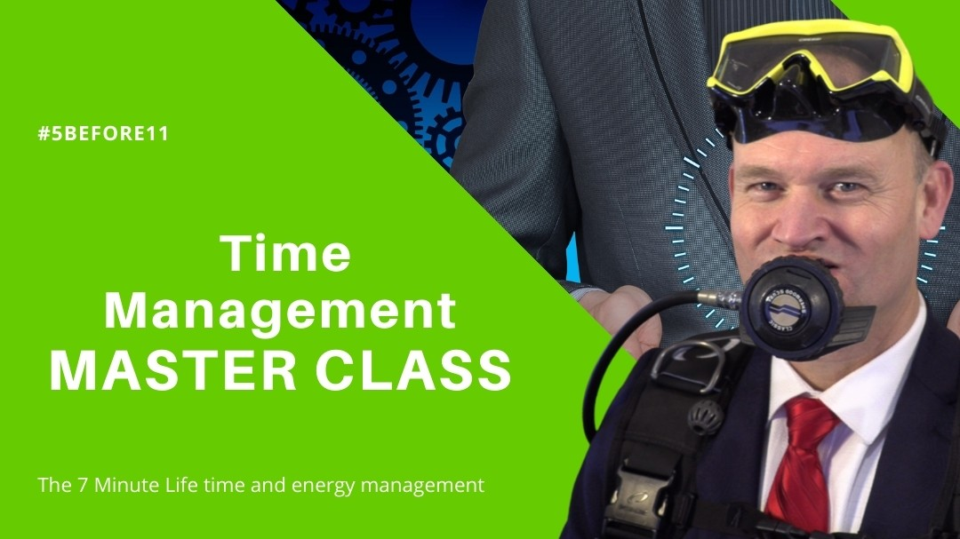 The 7 Minute Life Master Class with Patrick van der Burght