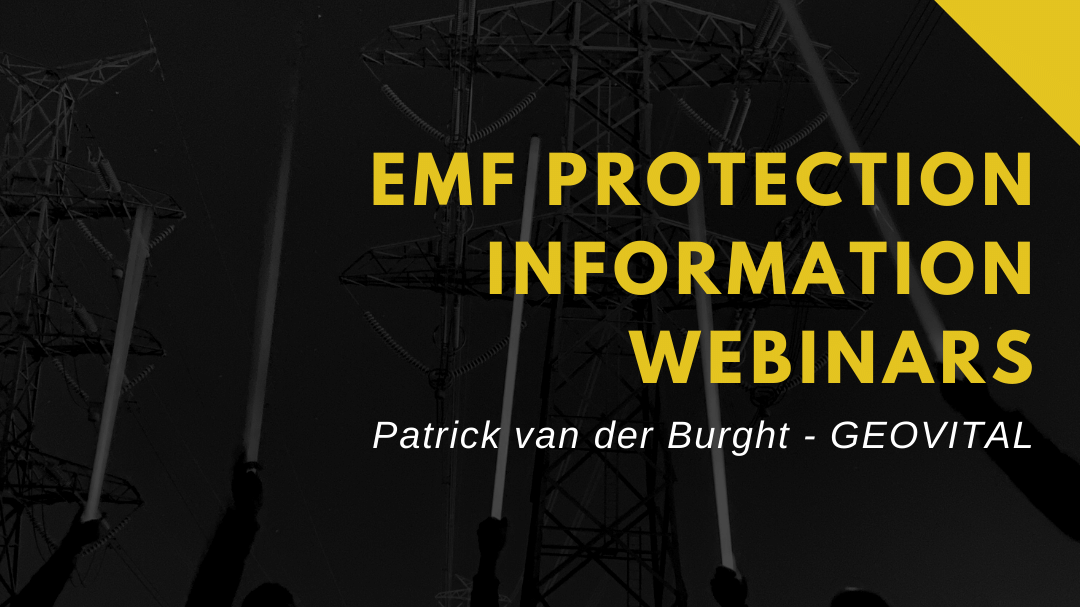 EMF radiation information webinars by one of the world's best consultants and trainers globally
