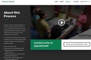 EMF Investigation website screenshot 3
